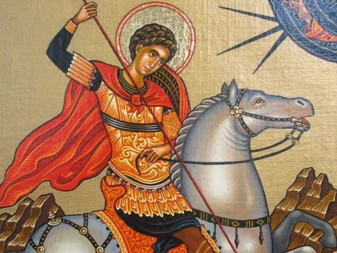 Притча за Свети Георги и ламята