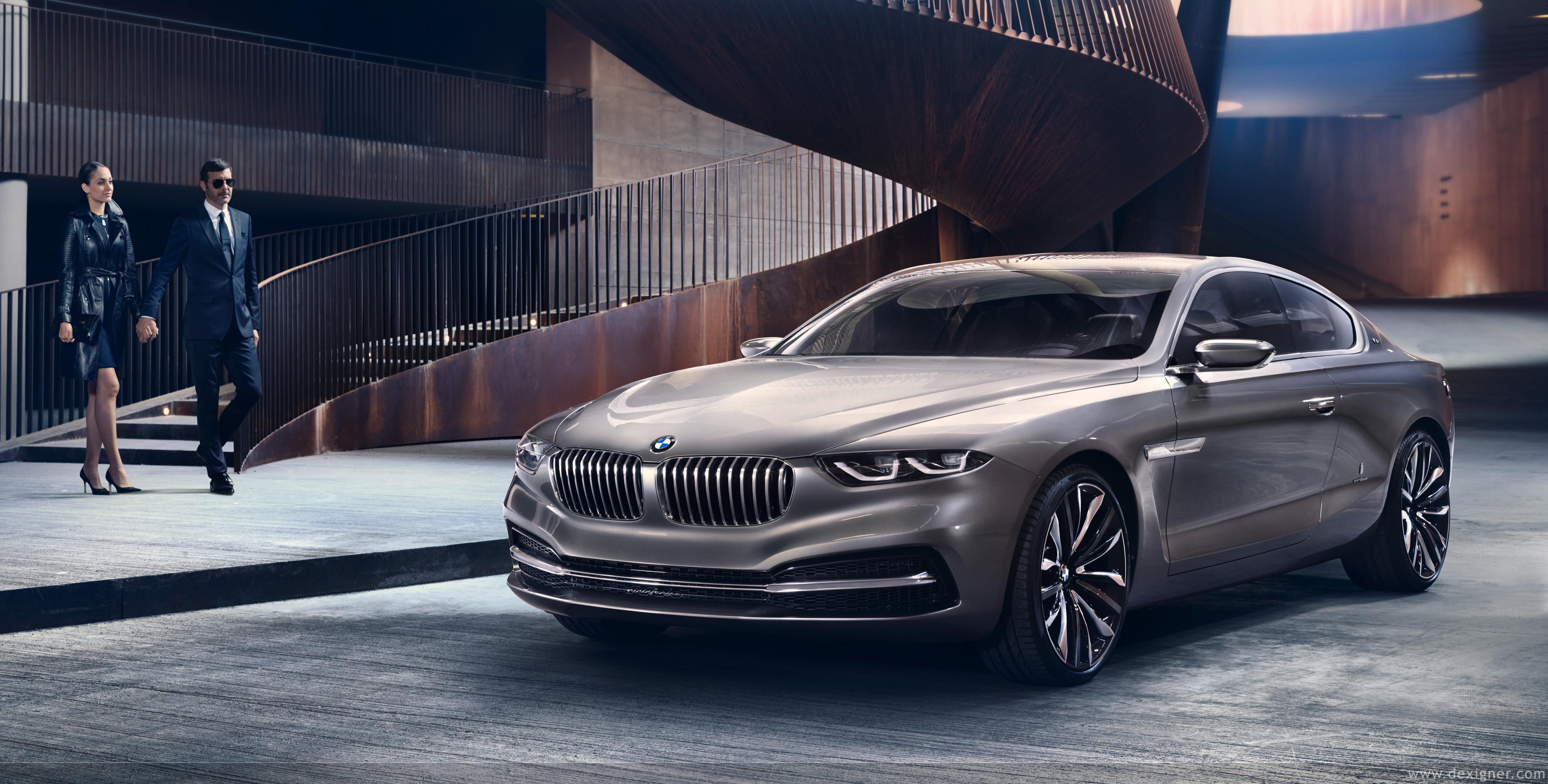 Смъртология зад волана: Дизайнерското BMW Gran Lusso Coupe
