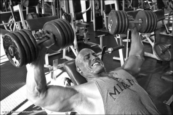 За мускулите на Скалата