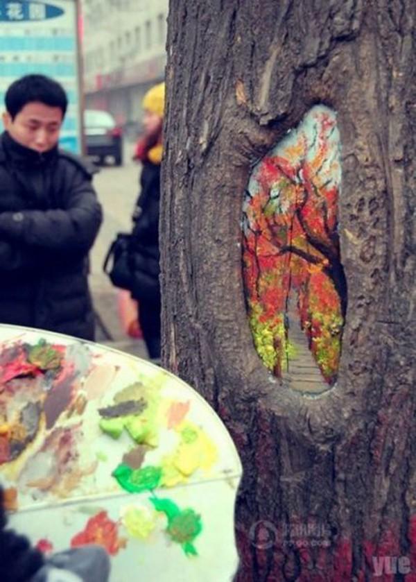 Ван Юй и дърветата (СНИМКИ)