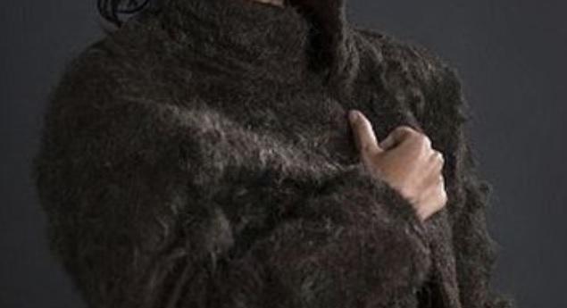 Палто от косми по гърдите (СНИМКИ)