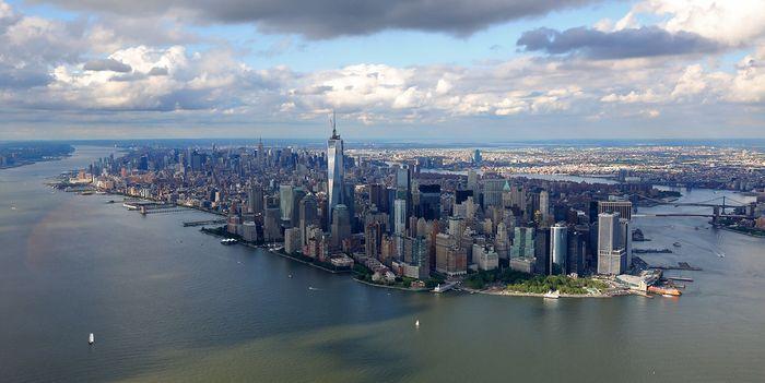 В небето над Ню Йорк (УНИКАЛНИ СНИМКИ)