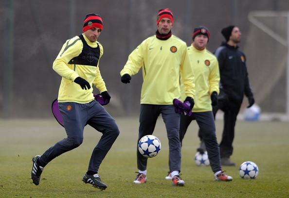 Manchester+United+Training+Press+Conference+I25vGoIaD5vl