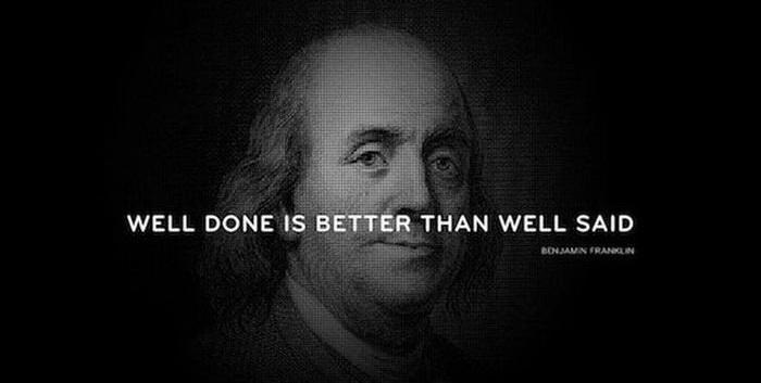 Съветите на Бенджамин Франклин