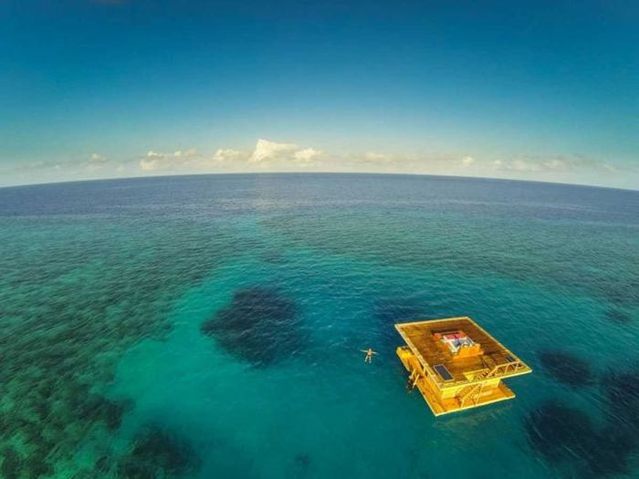 Хотелска стая под водата (СНИМКИ)