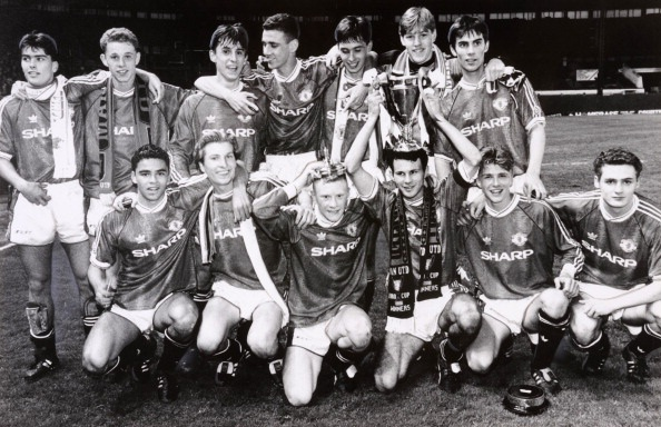 Manchester United Youth Team - FA Youth Cup Winners