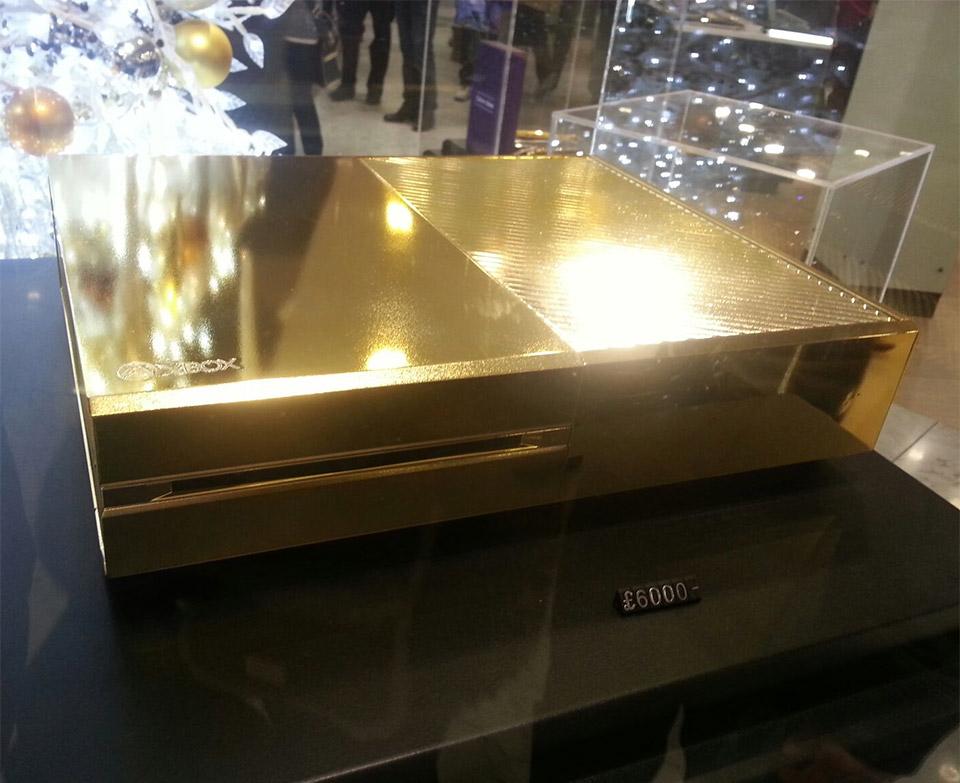Златен Xbox One за £6 000