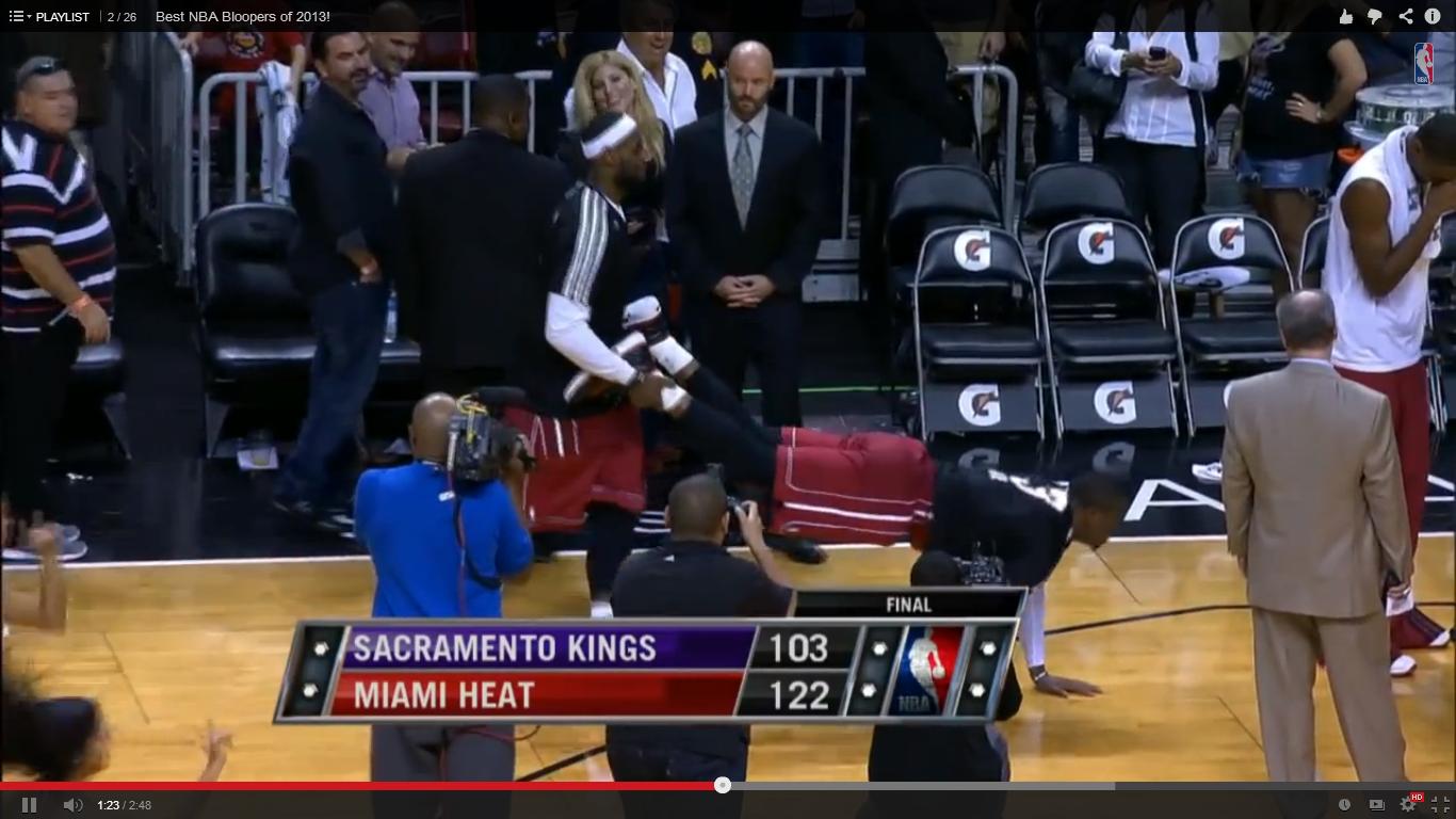 Най-доброто от НБА за 2013 (ВИДЕО)
