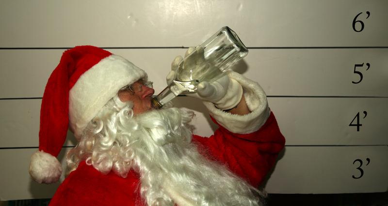 Компилация от изцепки на Дядо Коледа (ВИДЕО)