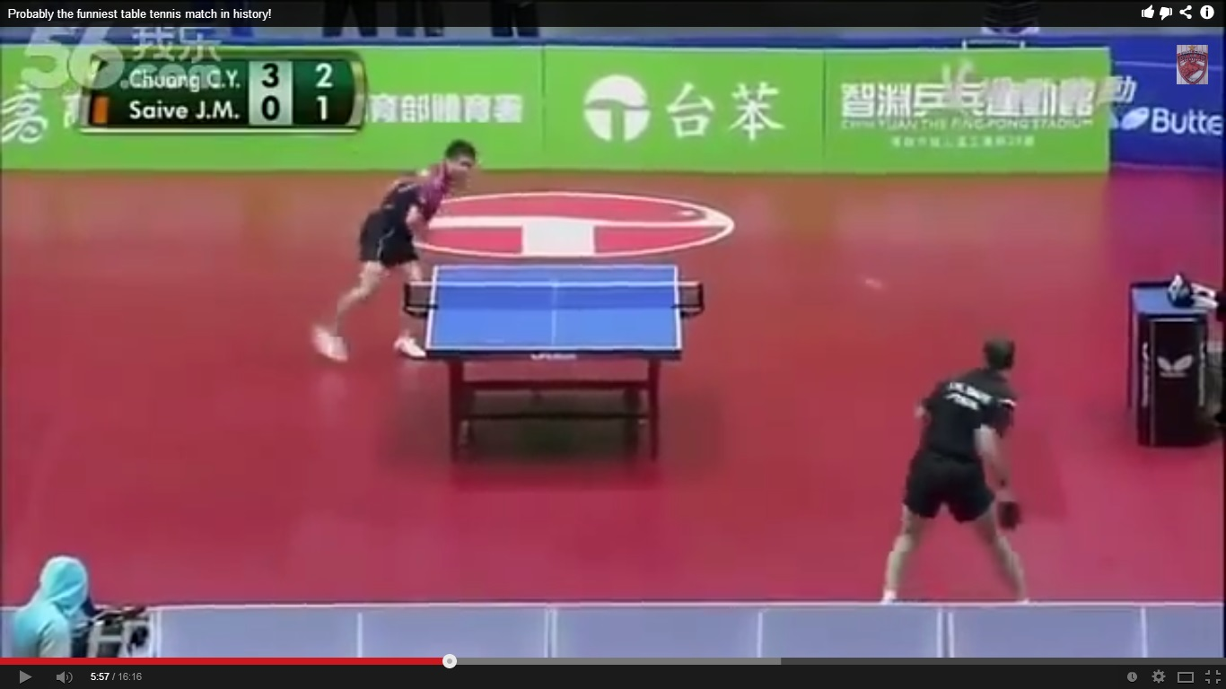 Най-откаченият тенис на маса (УНИКАЛНО ВИДЕО, БРАТО)