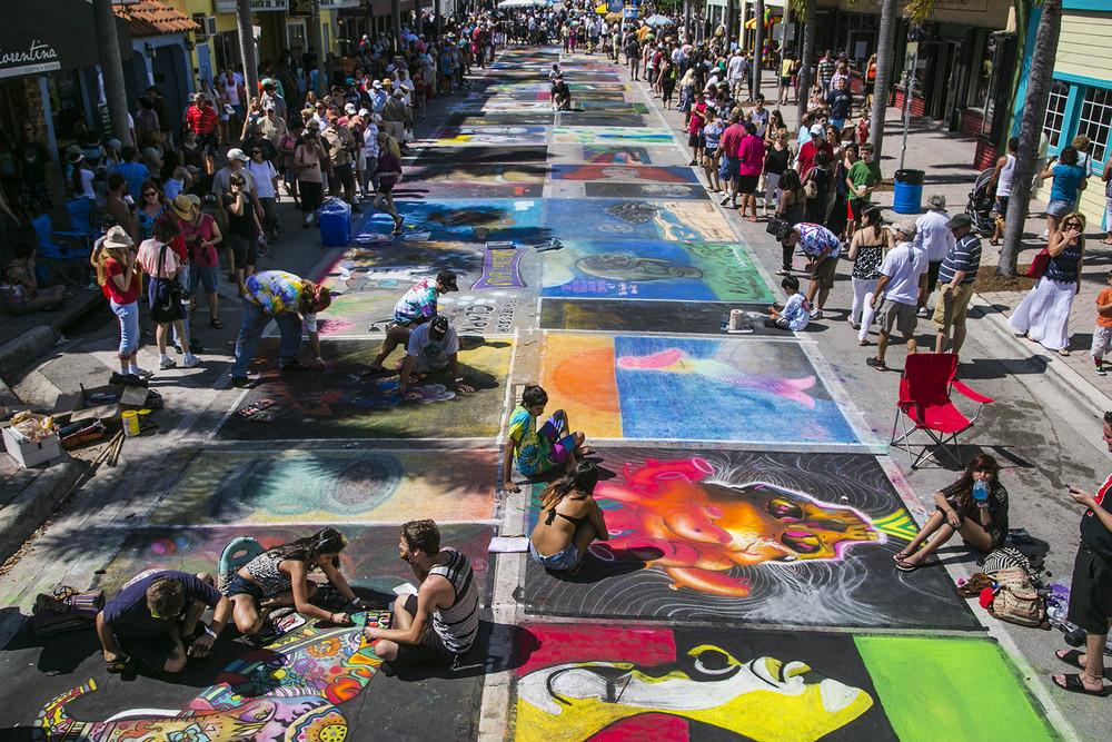 20-ти годишен живописен фестивал в Лейк Уорт, Флорида (СНИМКИ)