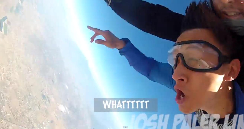 Да се събудиш с махмурлук на 5000 метра над земята