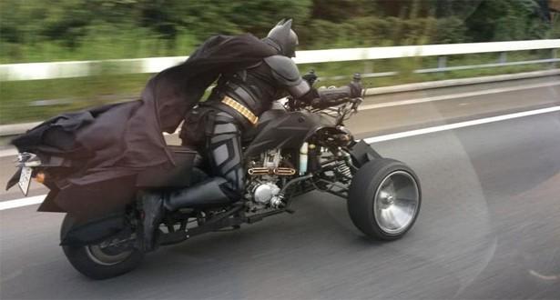 Батман кара мотор в Япония (ВИДЕО)