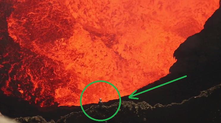 Гмуркане в активен вулкан