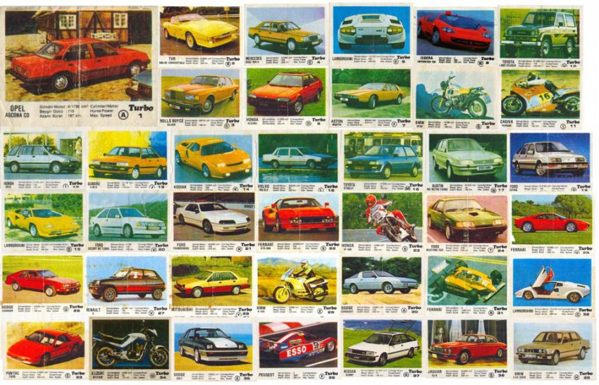 """Виж цялата уникална колекция от картинки на дъвките """"Турбо"""" (СНИМКИ)"""