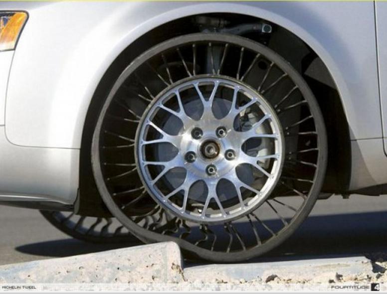 Нема пукане: Гуми за автомобил без въздух