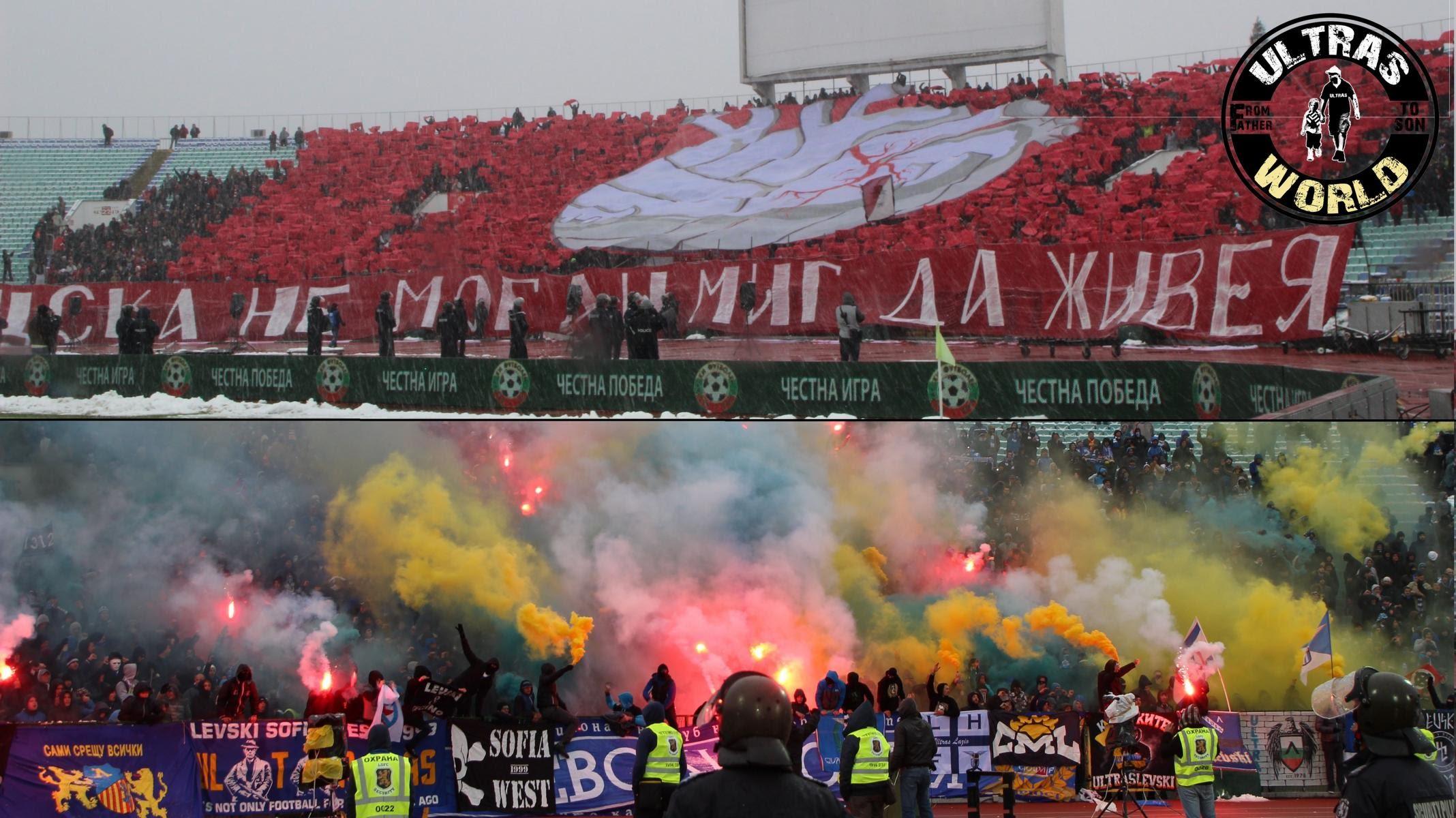 ЦСКА и Левски в документален филм на Ultras World (ВИДЕО)