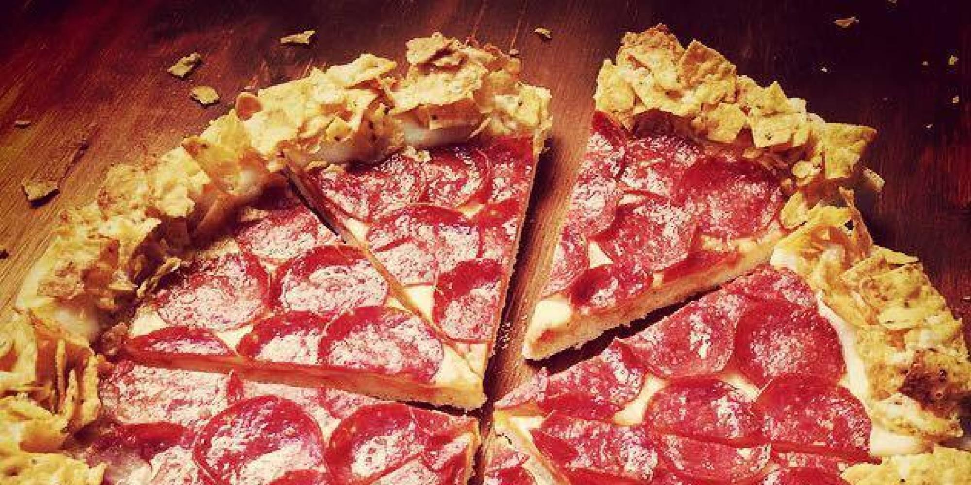 Пържен шоколад, пица с чипс и още гадории за бързо хранене