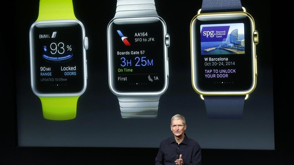 Епъл пускат часовник през април