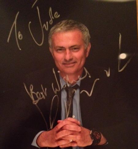 Jose-Mourinhos-signed-photo-for-Aston-Villa-fan-Jude-Branson
