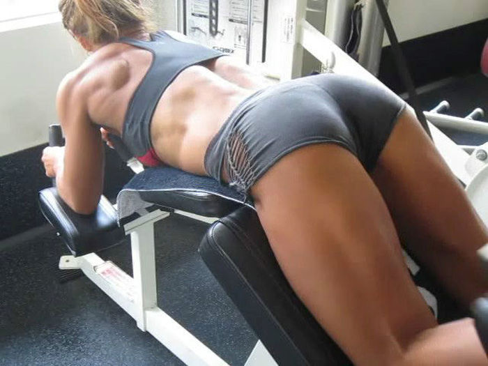 Athlete homepage a site featuring female fitness athlete 003