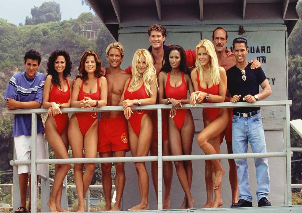 """25 г. по-късно: Мич Бюканън и другите герои от """"Спасители на плажа"""" (СНИМКИ)"""