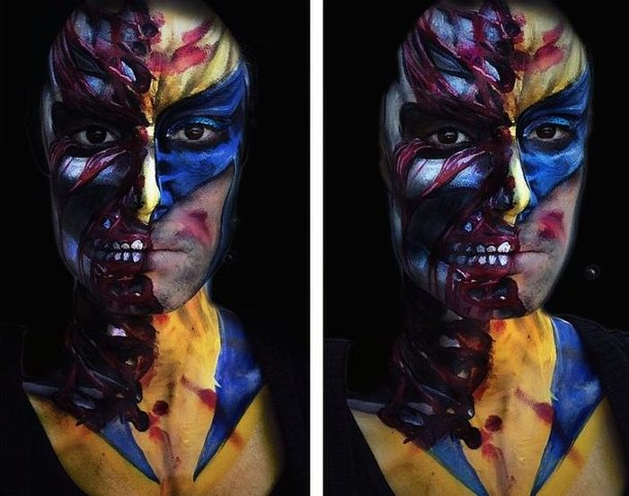 Face art – изкуството да станеш забележим с няколко мацвания (СНИМКИ)