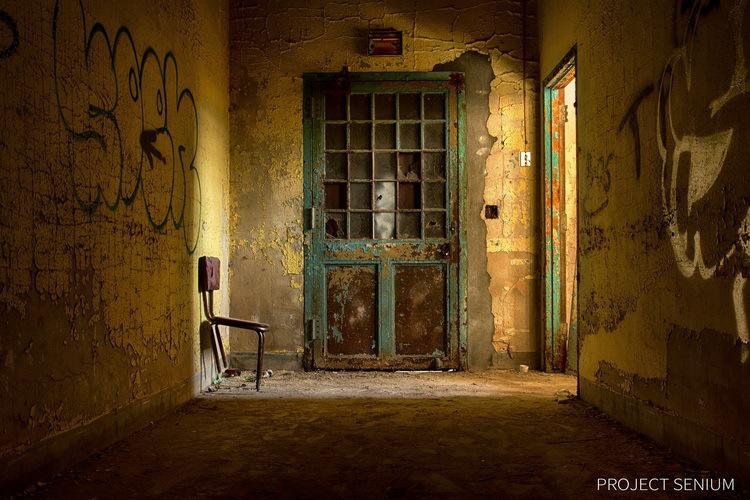 Колко красиви могат да бъдат изоставените клиники за психичноболни?