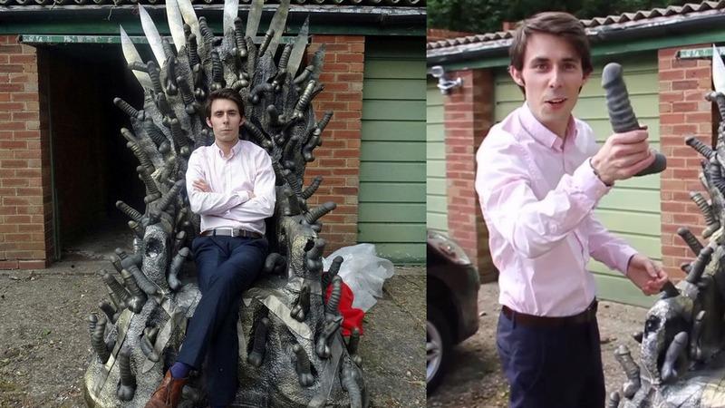 Продават Железния трон, изграден от 200 вибратори