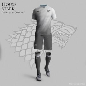 """Старк, Ланистър и другите домове от """"Игра на тронове"""" с официални футболни екипи"""