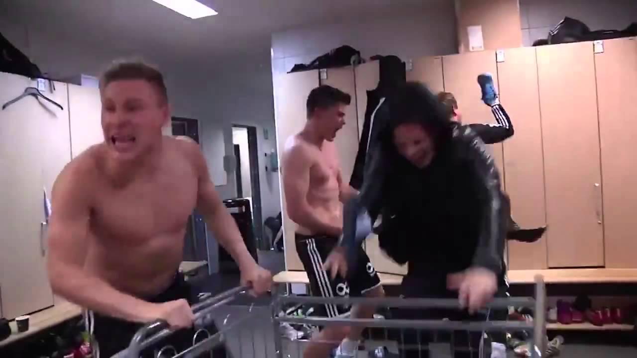 Мотивиращо: Песента на футболистите на Розенборг след победа (ВИДЕО)