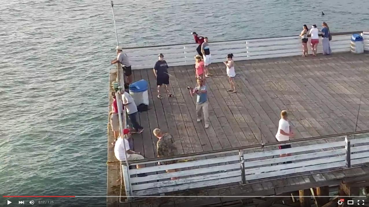 Рибар се опита да хване дрон с въдица (ВИДЕО)