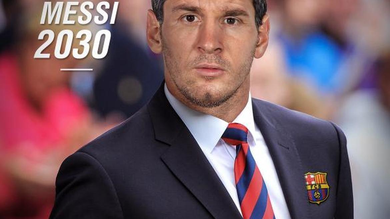 Как ще изглеждат Меси, Тоти и Роналдо като треньори? (СНИМКИ)