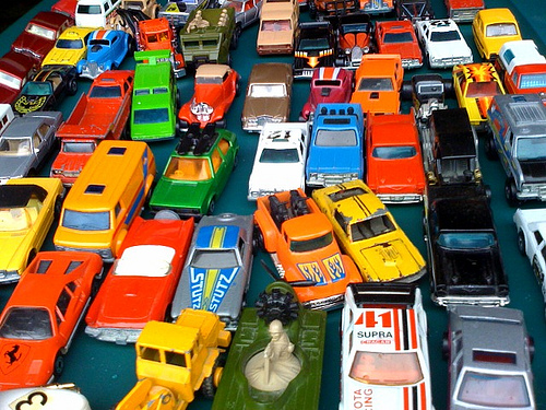 Matchbox-Cars-Heavy-Traffic