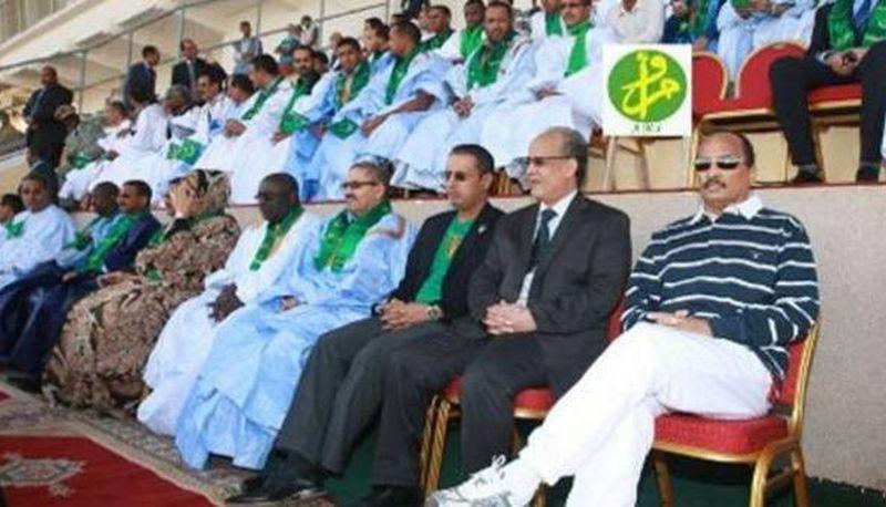 Президентът на Мавритания прекрати мач за Суперкупата в 60-ата минута и нареди да си бият дузпи