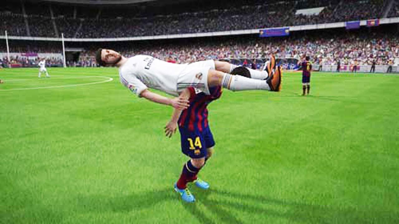 Най-скапаните бъгове на FIFA 16 (ВИДЕО)