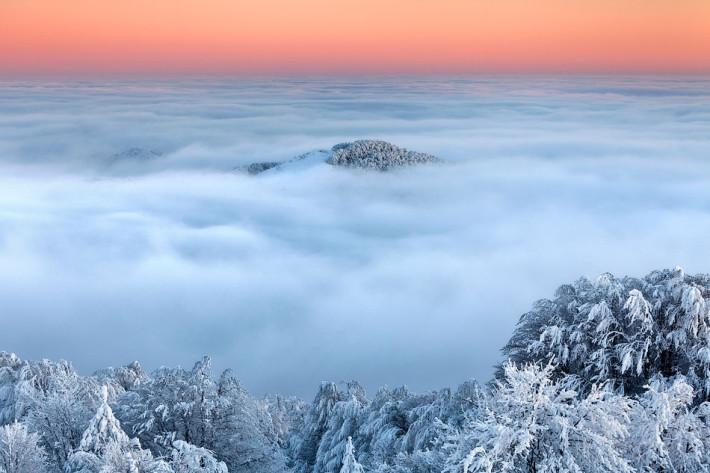 Изгубен в облаците, Снимка: Evgeni Dinev