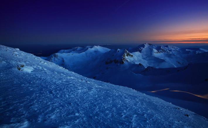 Залез над връх Полежан, Снимка: Krasimir Petrov