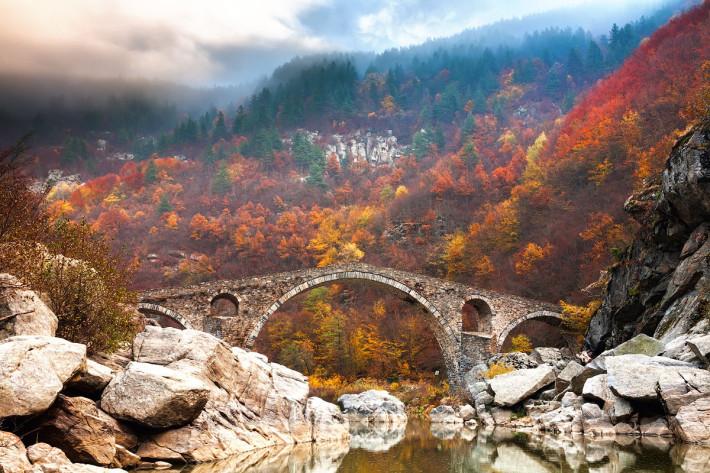 Дяволският мост, Родопите, Снимка: Evgeni Dinev