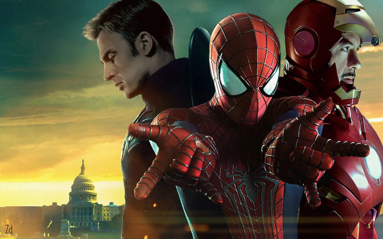 """Спайдърмен мина на другия бряг в новия трейлър на """"Първият отмъстител: Войната на героите"""""""