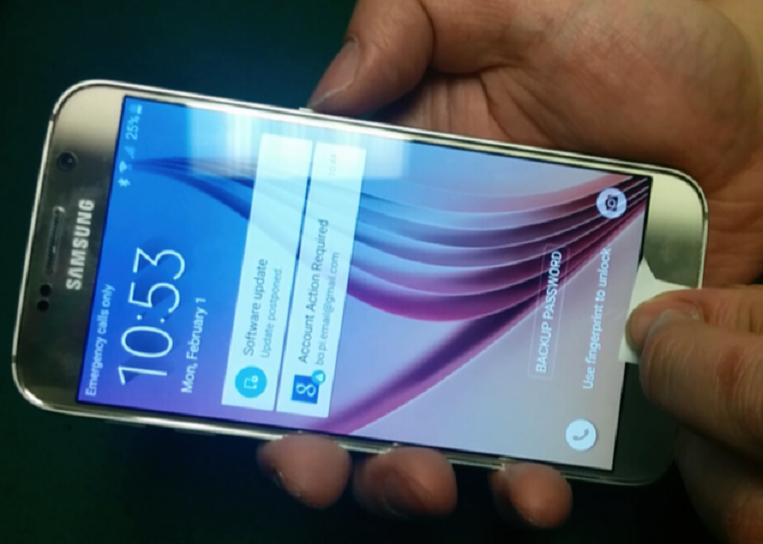 Как да хакнеш скенера за пръстови отпечатъци на смартфоните (ВИДЕО)