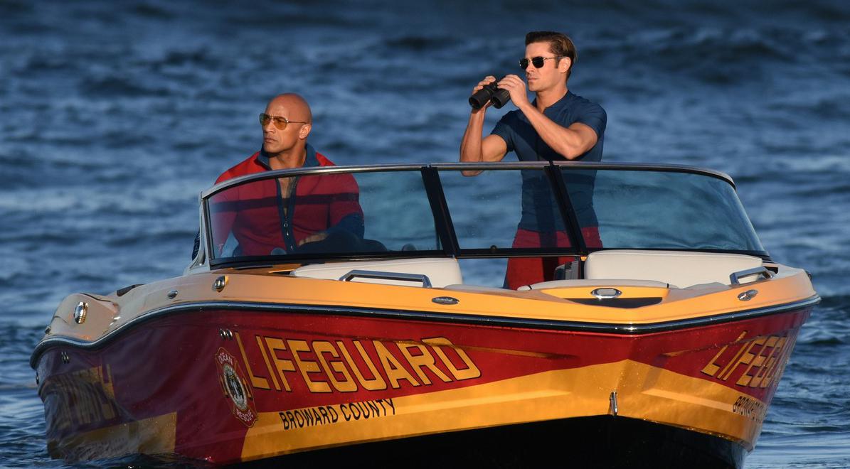 "Започнаха снимките на ""Спасители на плажа"", Скалата играе Мич Бюканън"