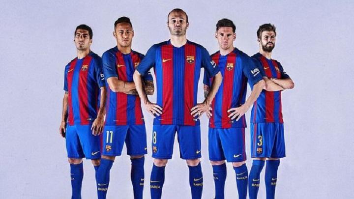 """""""Барселона"""" ще играе с фланелки от 92`"""