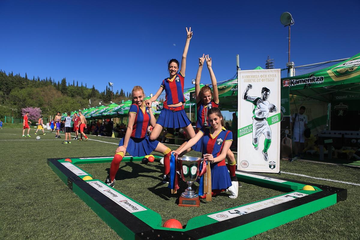 Правят възстановка на първия футболен мач в България