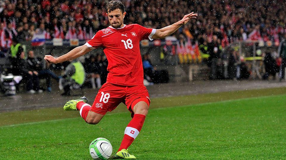 Роден в Македония с албански корени и швейцарско гражданство играч вкара гол със 100 км в час