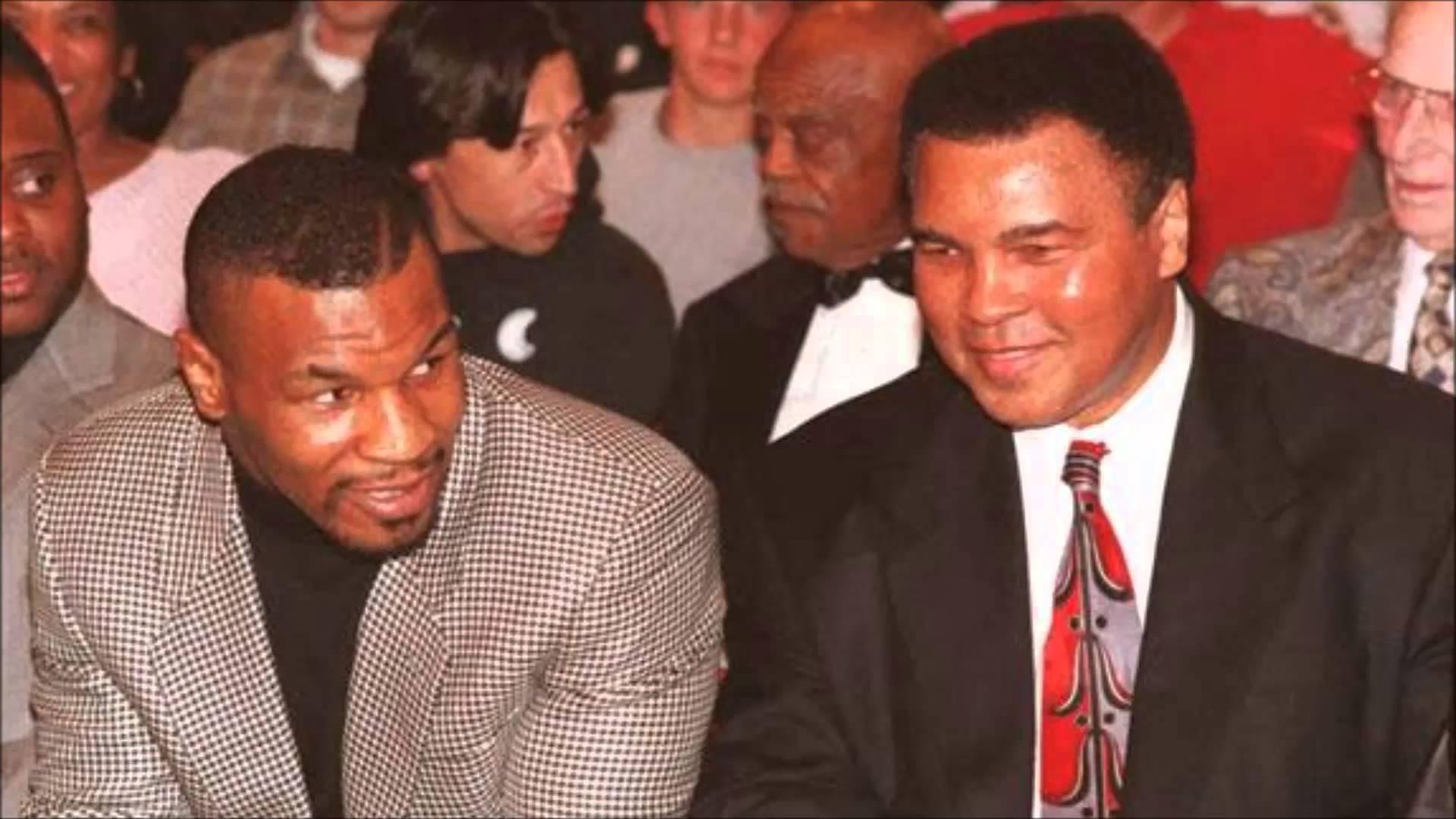 Как посрещнаха Мохамед Али в рая според Майк Тайсън