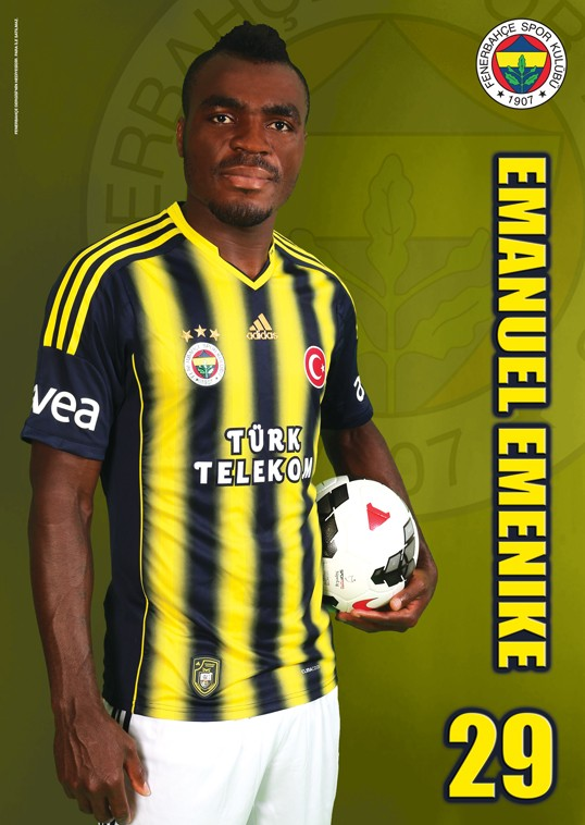 Emenike Fenebahce cover