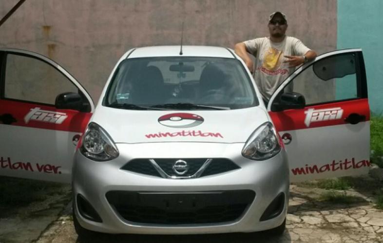 Мексиканец стана шофьор на първото покемон такси (ВИДЕО)