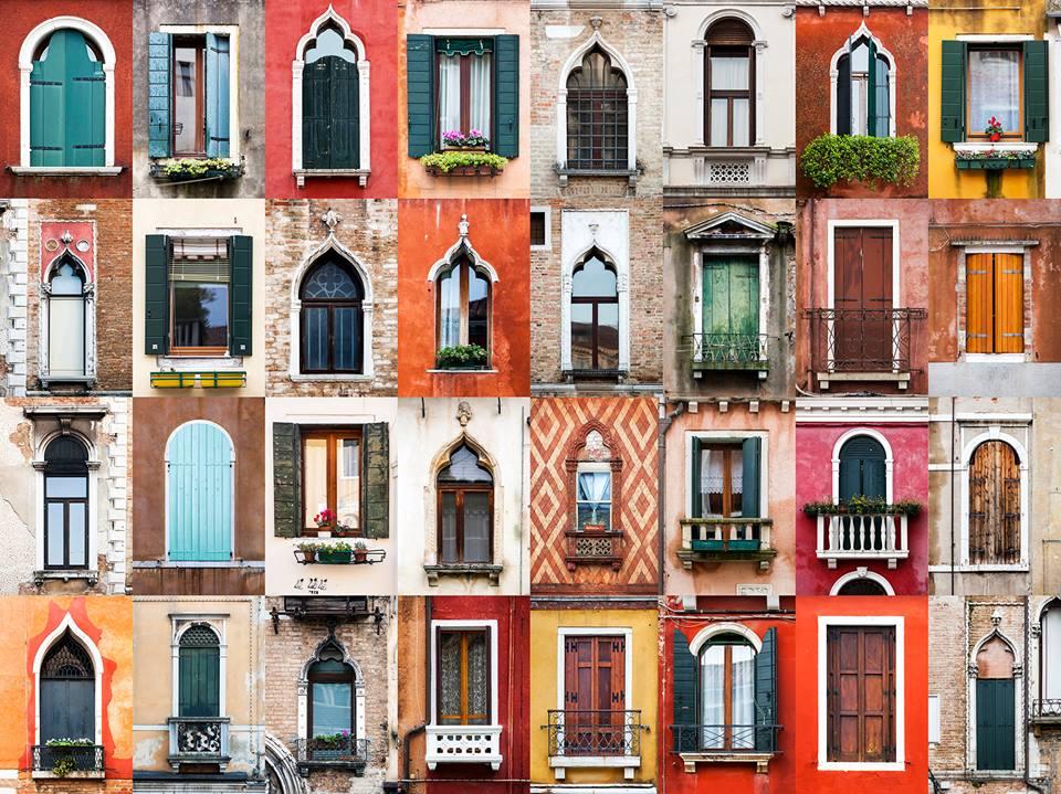 Фотографът, който обикаля света, за да снима врати и прозорци