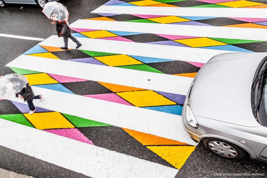Пешеходните пътеки на един българин